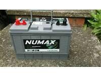 Numax 105amp leisure battery ( New)
