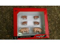 Brittains Farm animals pigs chickens cows. New collectible toy