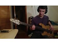 Advanced Level Fretted+Fretless Bass Player/Bassist - available for any and all paid sessions