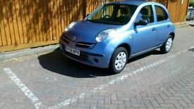 Nissan micra 1.2 petrol very clean for the year. new clutch.