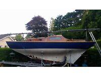British built Folkboat, free to good home!