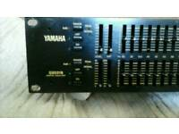 Graphic equaliser (by yamaha)studio/professional standard)