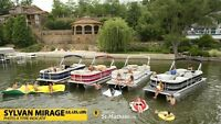 2015 Sylvan PONTOON MIRAGE 8520 CRS RE