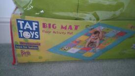 Taf Toys. Big Mat. Floor Activity Mat. Size 150 x 100cm