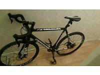 Cannondale bike cad x . Hybrid with disc breaks. Super light weight and carbon fibre front forks