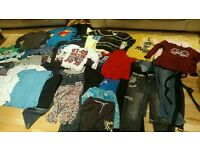 Boys clothes 11-13yrs, 70 items