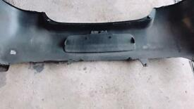 Yaris 2008 Black rear bumper