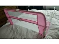 Childs pink bed gard