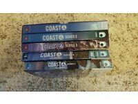 Box set of Coast series 1-5