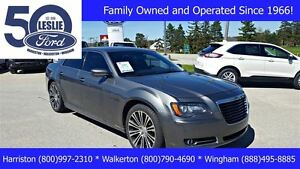 2012 Chrysler 300 S V6 | Incl Winter Tires & Rims | Leather