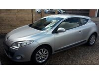Renault Megane Coupe. Priced Low for quick sale. MOT to April '19. Avg mileage. Service history.