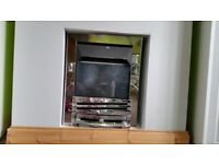 Flue less gas fire