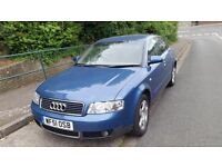 Audi A4gttdi long mot service history cheap on fuel tax leather seat cd airconditioning £885