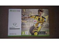 Microsoft Xbox One S 500GB Console with FIFA 17 Bundle