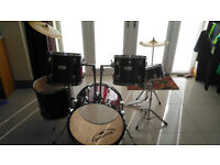 Complete drumkit for sale.