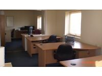 4/5 Person Office Rental fr £150 p/wk. We are 5 mins fr M27/Hilsea Train Stn/P'mouth Central. Car Pk