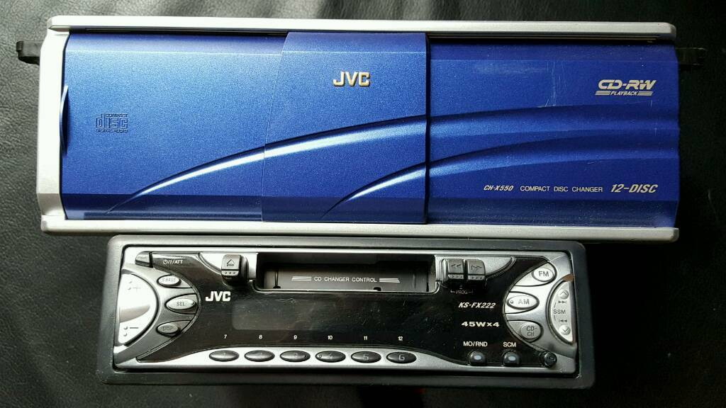 Jvc Car Radio With 12 Disc Cd Changer