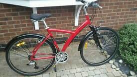 Hybrid bicycle size L