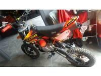 Stomp 125 dirt bike