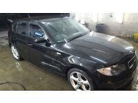 2009 BMW 1 Series 2.0 116d 5 Doors  Diesel  MOT  Like A3 Fiesta Corsa Civic Astra