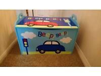 Boys Car Themed Toy Box