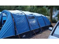 Edoras 600XL 6 Berth blow up Tent