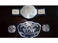 2x WWE Belts