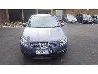 Nissan Qashqai Acenta Automatic 2007 PANARAMIC ROOF 2 former keepers MOT July 2017