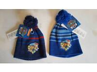 Childrens knitted hats