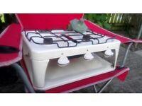Caravan cooker