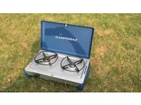 Camping Gaz two ring camping cooker