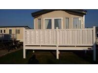 Porthcawl trecco bay 6 berth luxury caravan to rent