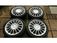 """17"""" 4x100 alloy wheels"""