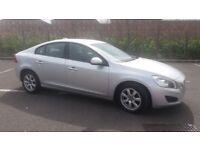 2010(60)VOLVO S60 2.0 D3 MET SILVER,NEW SHAPE,FSH,2 OWNER,NEW MOT,6 SPEED,BIG MPG,LOVELY CAR