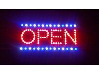 Shop Open Sign LED