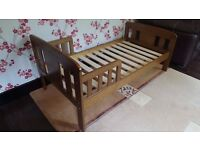 JOHN LEWIS BORIS TODDLER BED COMPLETE WITH INSTUCTIONS
