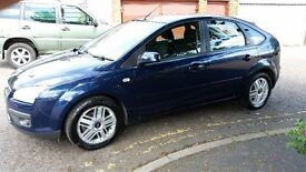 2005 Ford Focus 1.6 Ghia 5dr *****Automatic ***** HPI Clear @07445775115