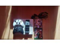 Xbox one s white.