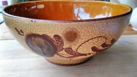 Large Spanish Decorative Bowl / Dish