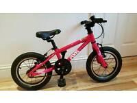 Kids Pedal Bike - Frog 43 Pink