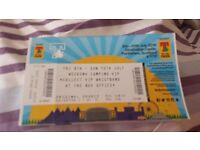 T in the park VIP FRI-SUN WEEKEND CAMPING TICKET offers open need gone asap down to £200!