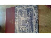 Spode blue& white place mats