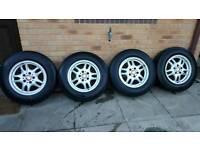 """bmw 16"""" alloys with van tyres, vivaro trafic primastar"""
