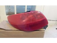Peugeot 206 N/S Passenger Side rear lamp Unit