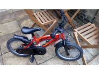 Boys bicycle for 4-5 year old