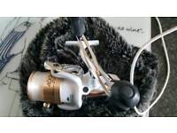 Shimano stradic 4000gtm as new with spare spool