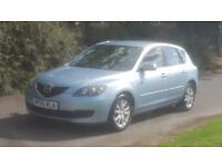 MAZDA 3 1.6 TS2 06 PLATE 2006 ONE PREVIOUS LADY OWNER S/HISTORY AIRCON ALLOY MANUAL 5 DOORS
