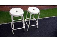 Ikea Bar Stools 2 Excellent Condition 6 months old. Cost Price £40.00 Selling for £30.00