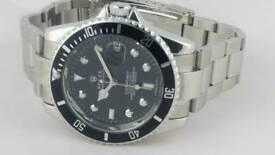 Classic Rolex submariner black dial