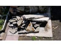 Stone / Rockery flat stones